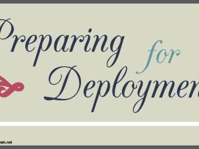 Preparing for Deployment