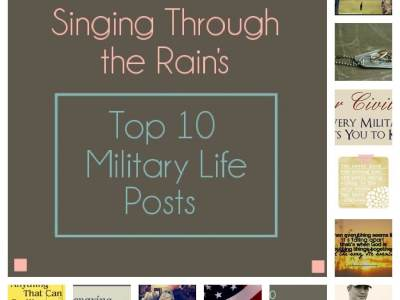 My Top 10 Military Life Posts