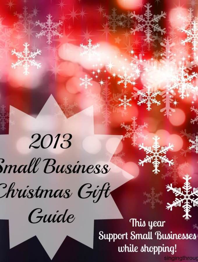 2013 Small Business Christmas Gift Guide