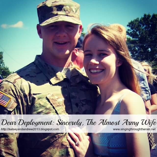 Dear Deployment: Sincerely, The Almost Army Wife