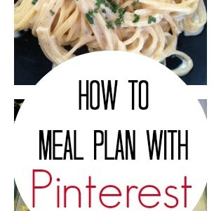 How to Meal Plan With Pinterest
