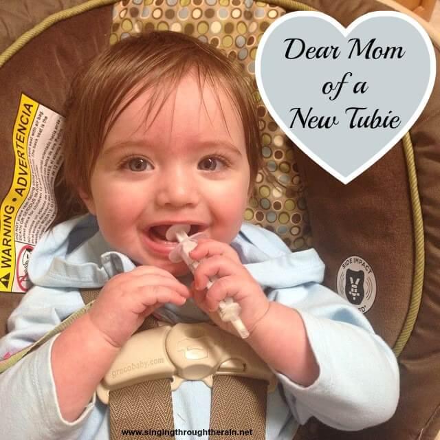 Dear Mom of a New Tubie