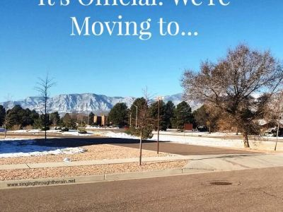 It's Official: We're Moving to…