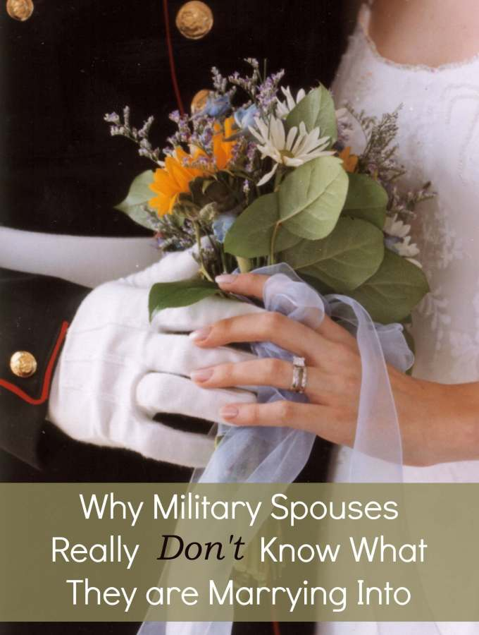 Why Military Spouses Really Don't Know What They are Marrying Into