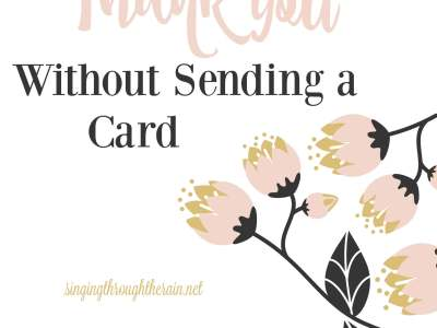 5 Ways to Say Thank You Without Sending a Card