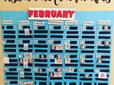 DIY Visual calendar