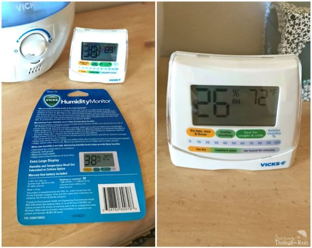 Vicks Humidity Monitor