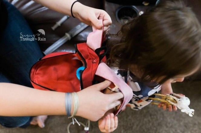 Feeding Backpack