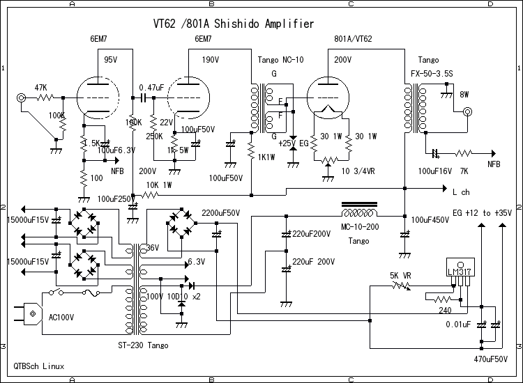 Shishido S Amplifiers Circuit
