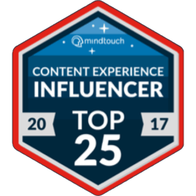 Content Experience Influencer Top 25 2017 Elizabeth Fraley