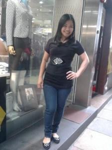 Qiu a Chinese Girl Living in Hong Kong