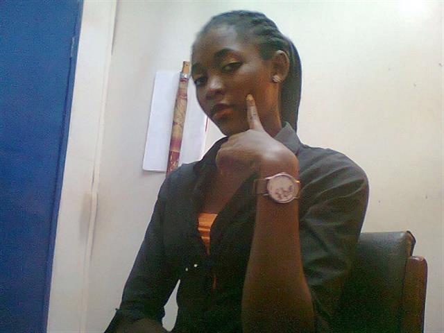 Kenyan Girl -Arogo