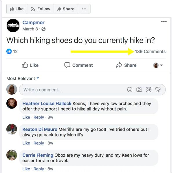 domande sui social media