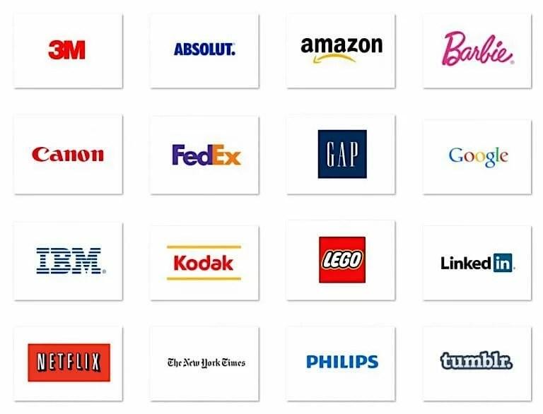 Top-20-famoso-Marchi-con-tipografia-Logo