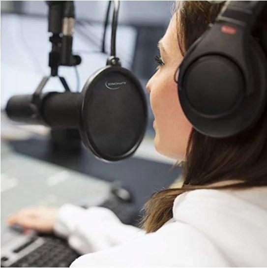 Filtro pop per microfono Auphonix
