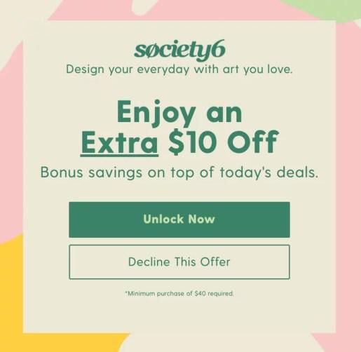 discount popup example