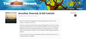 Divorced, Annulled, & Still Catholic