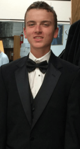 Prom 2014 Black and White Tux - Troy