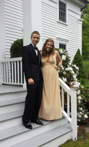 Troy and his prom date Prom 2014