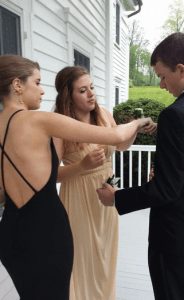 Prom 2014 - boutonniere
