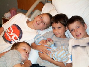 My newborn and his 4 brothers