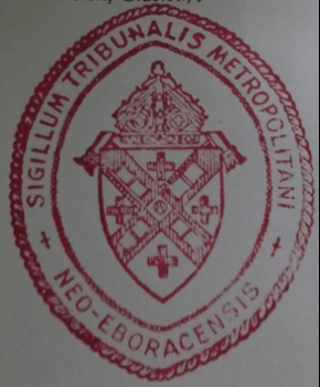 The Annulment Tribunal Seal
