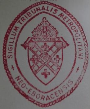 The Annulment Tribunal Seal