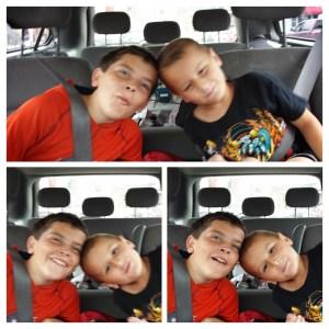 Kaleb and George being goofy!