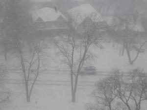 house hidden by snow