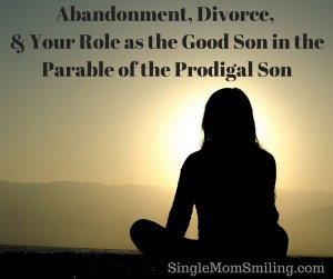 Abandonment, Divorce, Shadow of a woman