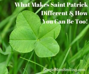 Saint Patrick - green clover