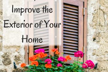 improve exterior home
