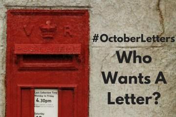 #OctoberLetters