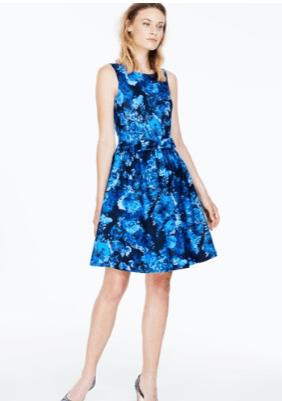 blue boden dress