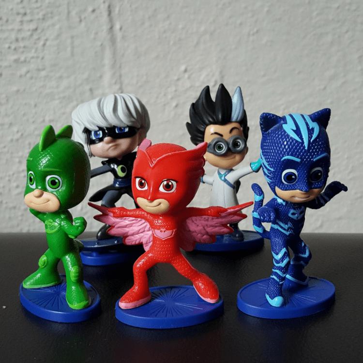 PJ Masks plastic characters