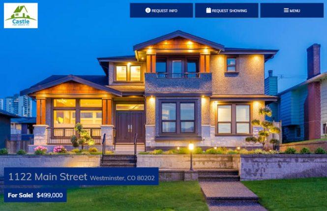 Real estate web sites