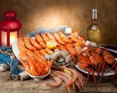 Recetas con pescados y mariscos para Celíacos. Antojos Marinos Sin Gluten