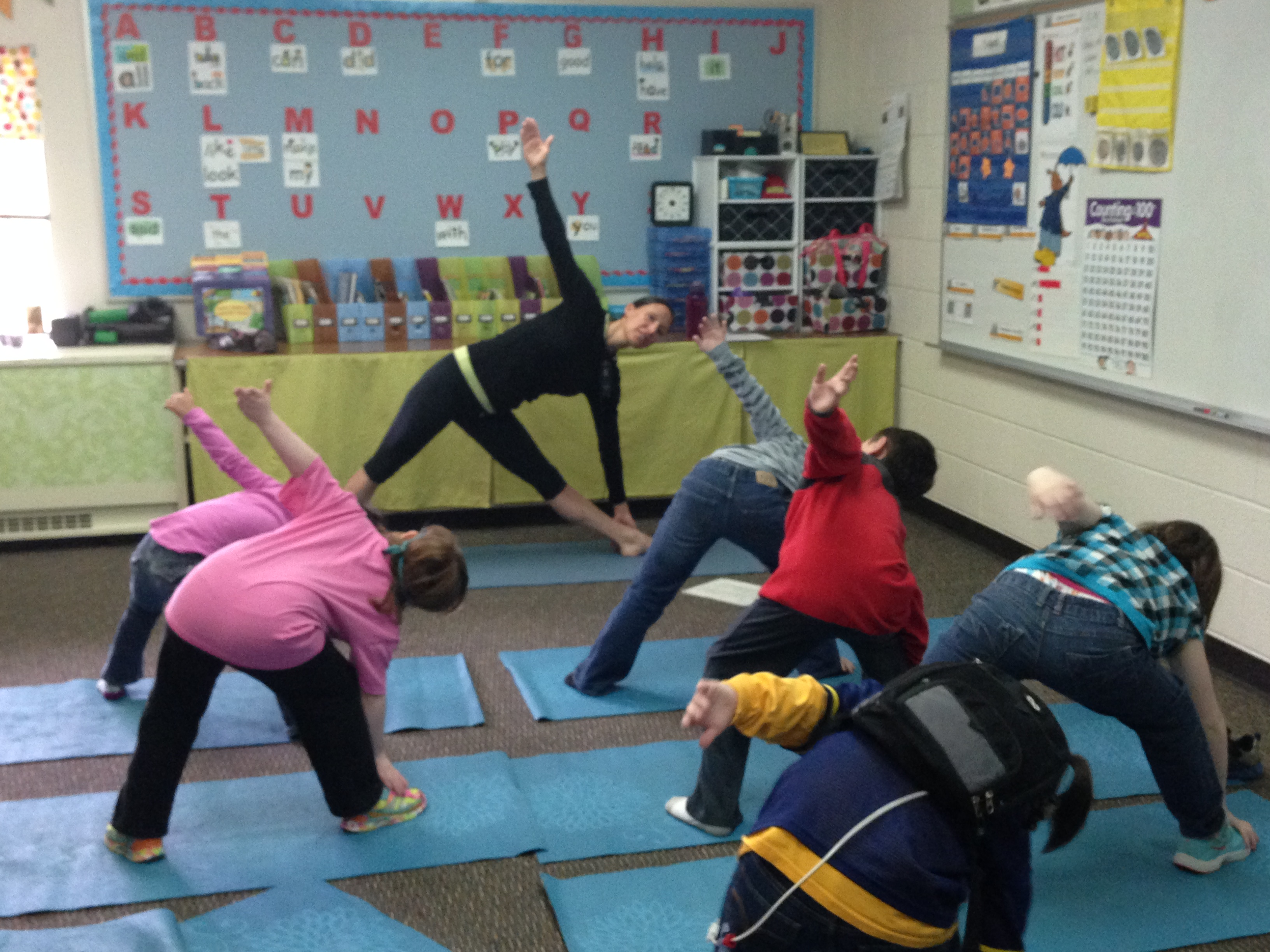 Yoga In Schools Kids As Teachers