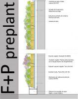 Sistemas de jardines verticales y cubiertas vegetales - F+P Preplant