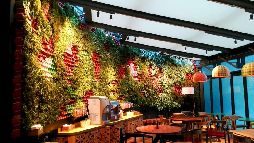 Sistema de jardín vertical EcoBin