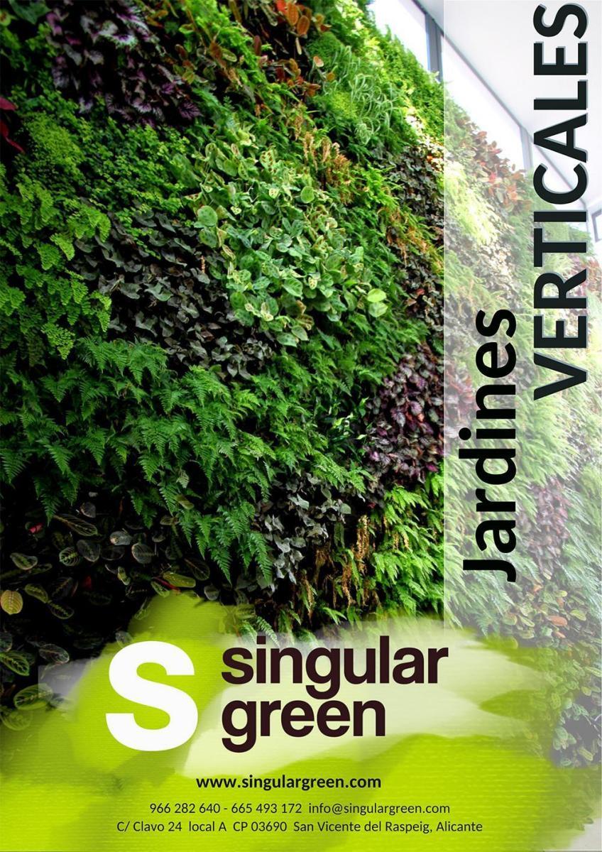Dossier comercial de jardines verticales