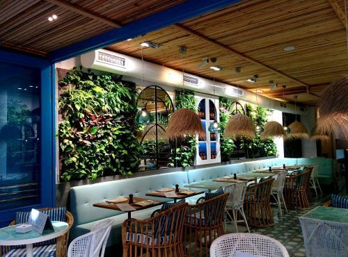 Singulargreen jardines verticales y cubiertas vegetales for Restaurante jardin mallorca