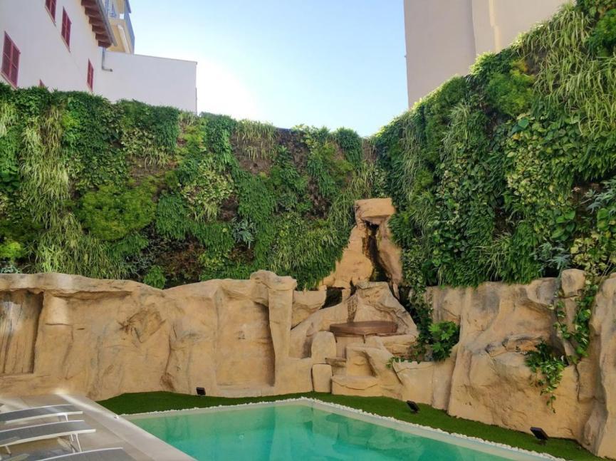 Jardín vertical jardines verticales Palma Mallorca greenwall vertical garden