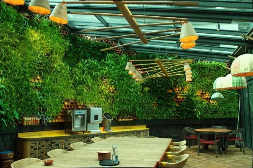 Jardines Verticales de Interior en Londres