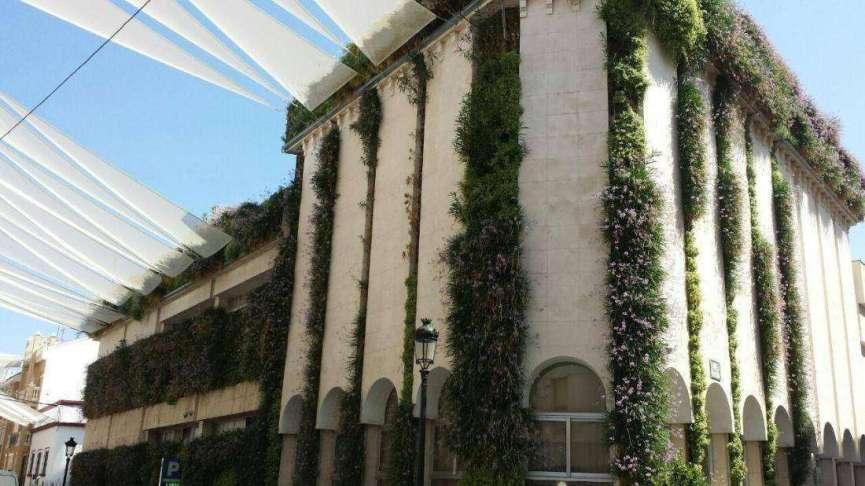 Jardines verticales en Córdoba
