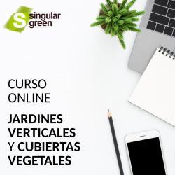 Curso online de cubiertas vegetales y jardines verticales