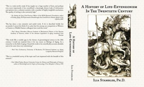 A History of Life Extensionism. Cover