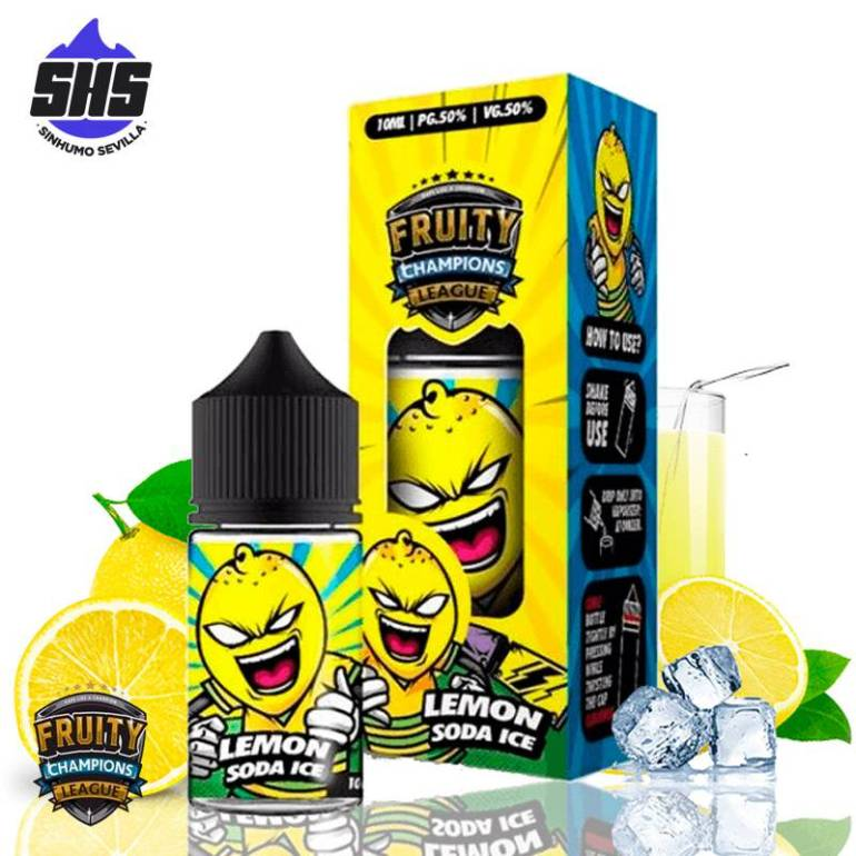 Aroma Lemon Soda Ice 30ml By Fruity Champions League