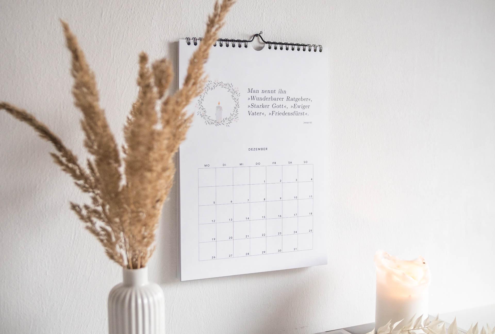 Wandkalender 2022 Wundervoller Ratgeber