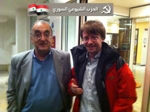 Ammar Bagdache (PC Siriano) con Massimiliano Ay (PC Ticino)